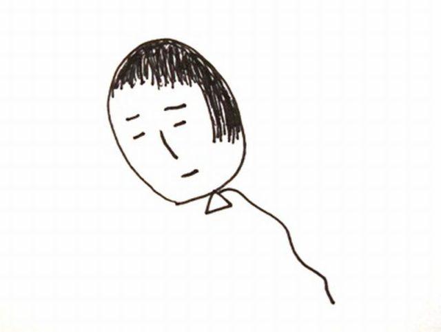 こだまさん自画像