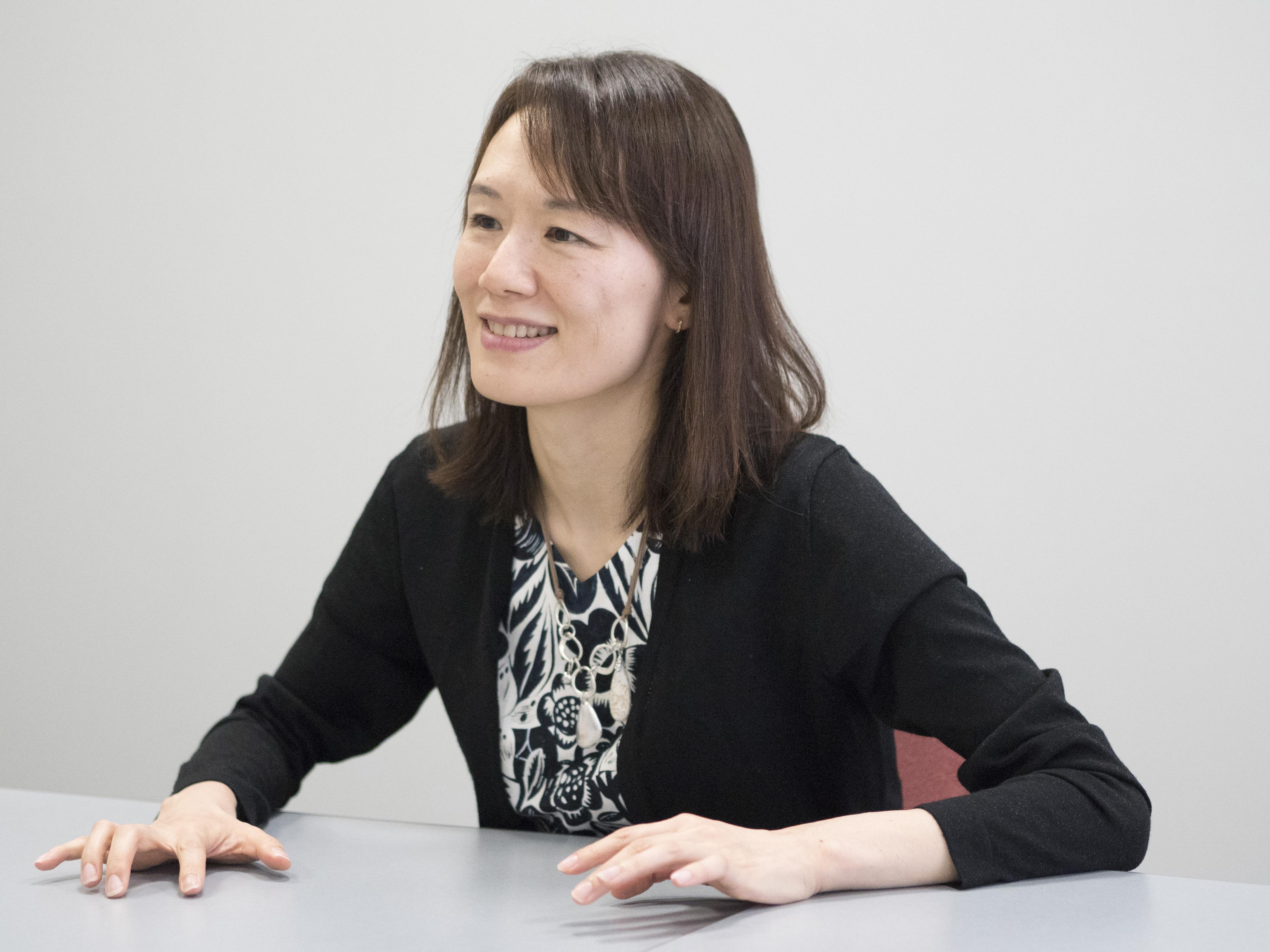 宮下奈都さんインタビュー画像1