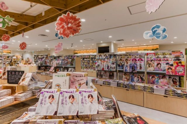 "HMV&BOOKS ""HIBIYA COTTAGE(日比谷コテージ)""雑誌売場"