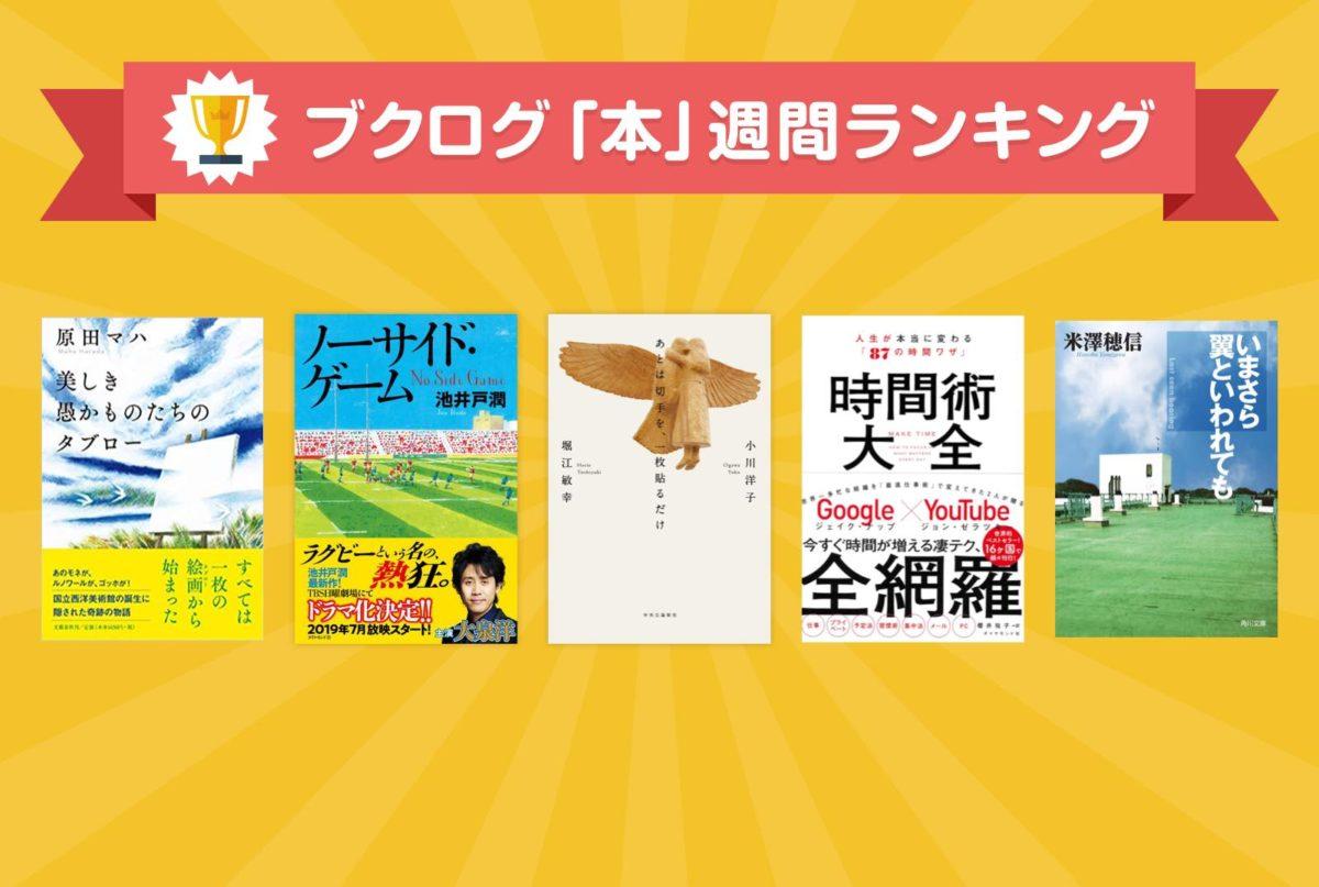 西洋美術を日本に広めた偉人・松方幸次郎が小説に。そして直木賞候補に―本ランキング6月16~22日